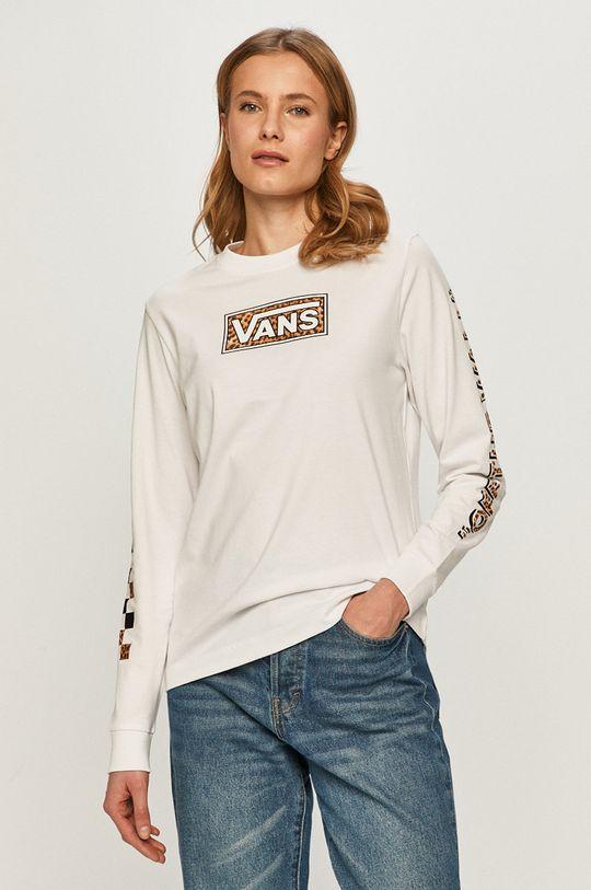 bílá Vans - Tričko s dlouhým rukávem Dámský