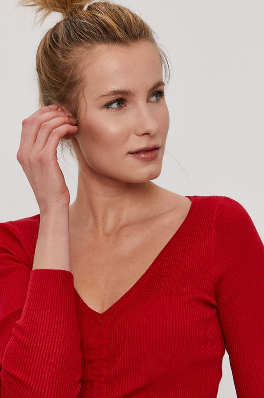 czerwony Tally Weijl - Sweter