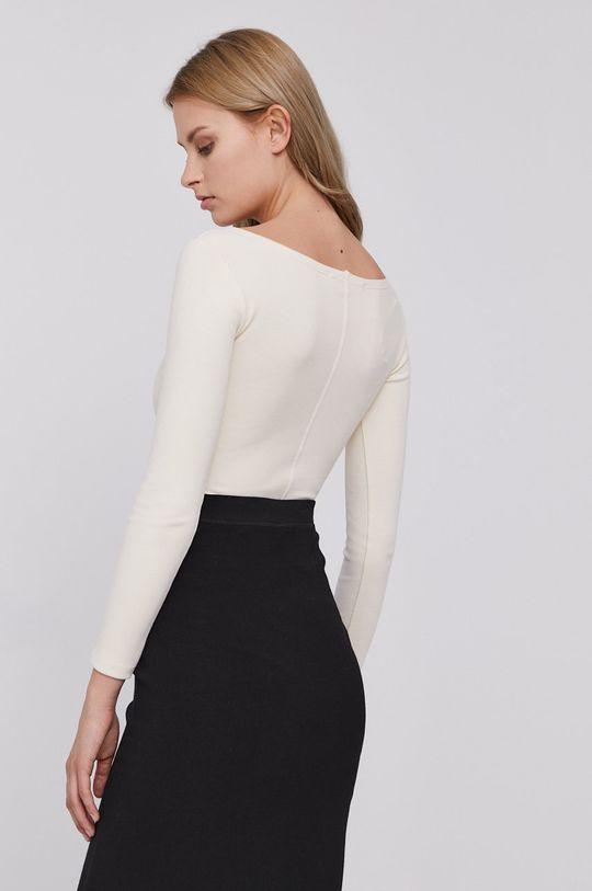 AllSaints - Tričko s dlhým rukávom  98% Bavlna, 2% Elastan