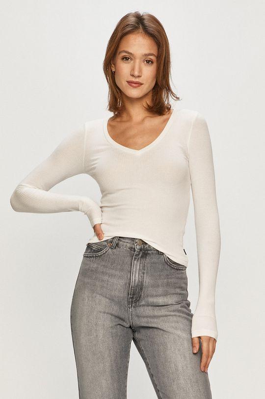 biela Dr. Denim - Tričko s dlhým rukávom Dámsky