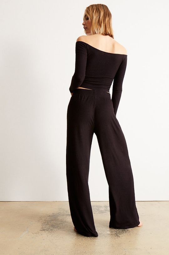 Undiz - Tričko s dlouhým rukávem NUDERIBIZ černá