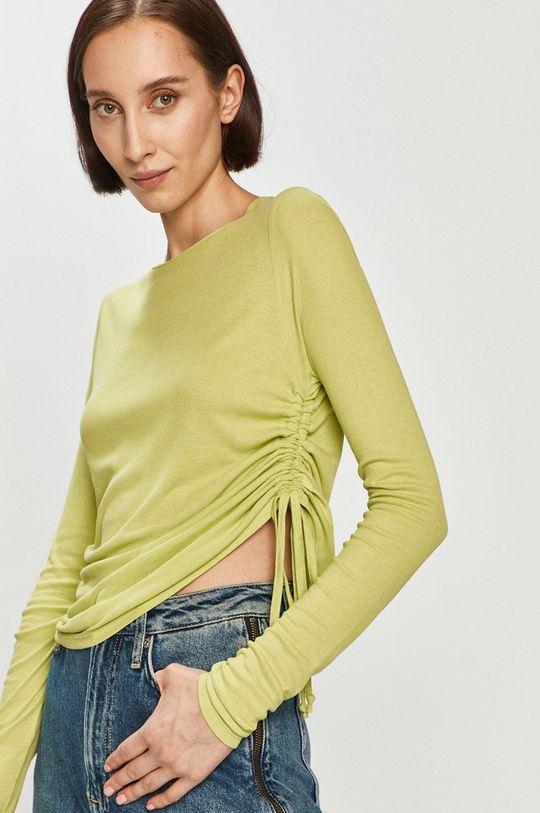 zelená Pepe Jeans - Tričko s dlhým rukávom Heidy x Dua Lipa Dámsky