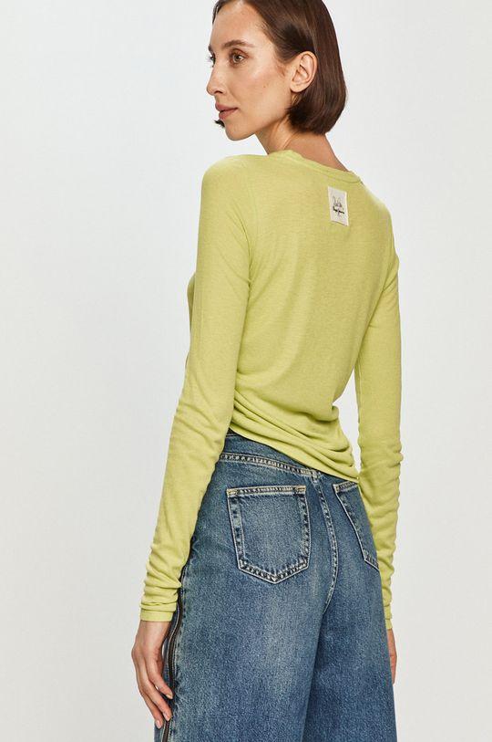 Pepe Jeans - Tričko s dlhým rukávom Heidy x Dua Lipa  100% Viskóza