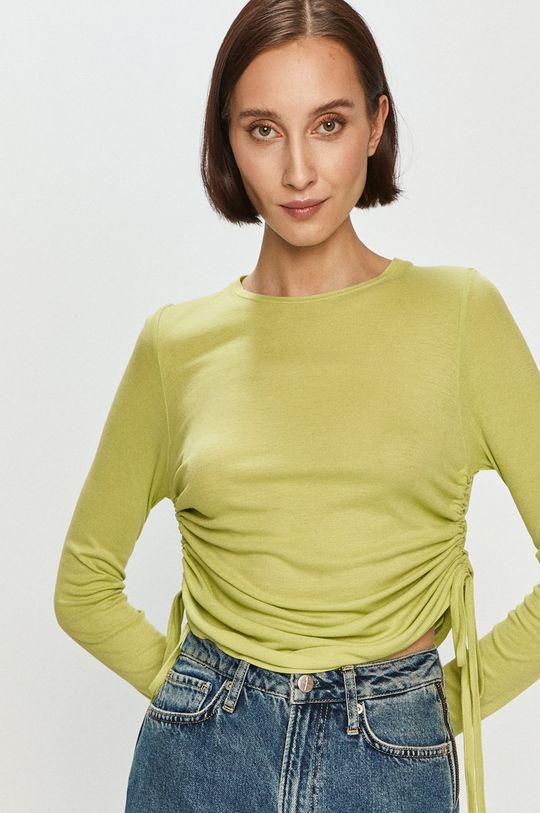 zelená Pepe Jeans - Tričko s dlhým rukávom Heidy x Dua Lipa