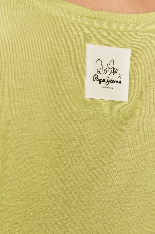 Pepe Jeans - Tričko s dlhým rukávom Heidy x Dua Lipa