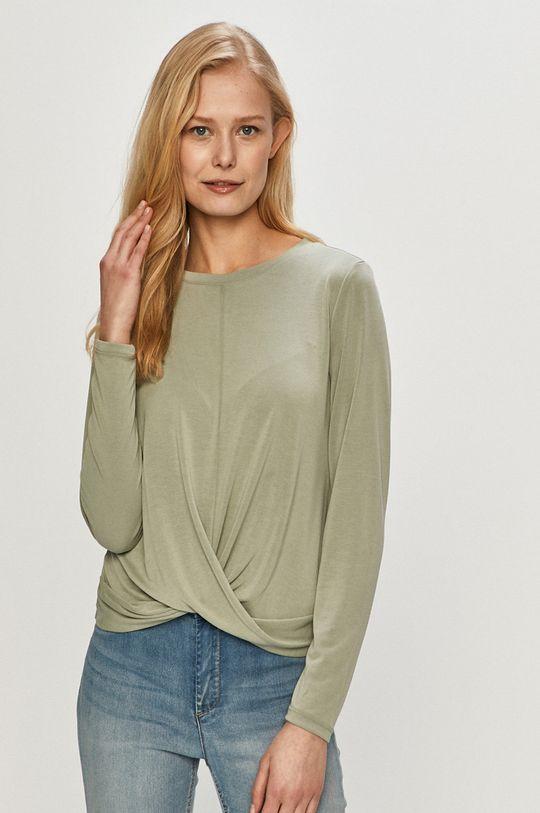 zelená Only - Tričko s dlouhým rukávem Dámský