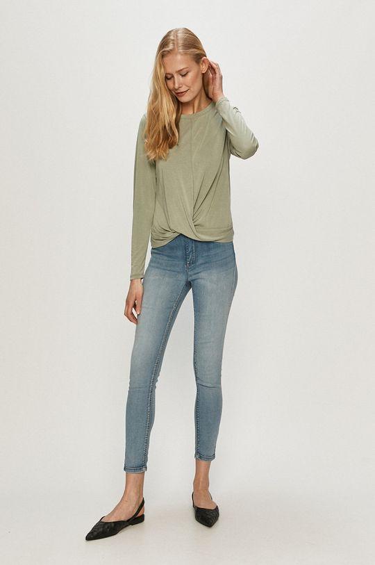 zelená Only - Tričko s dlouhým rukávem