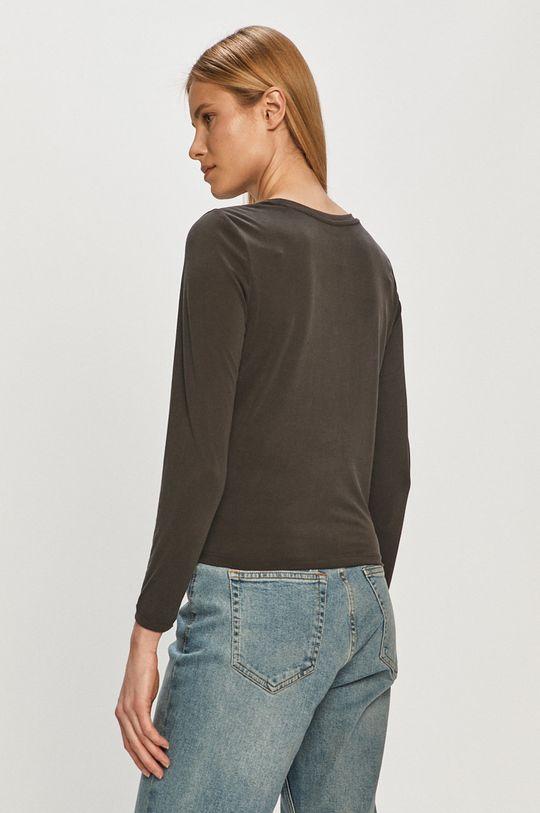 Only - Tričko s dlouhým rukávem  30% Polyester, 70% Tencel