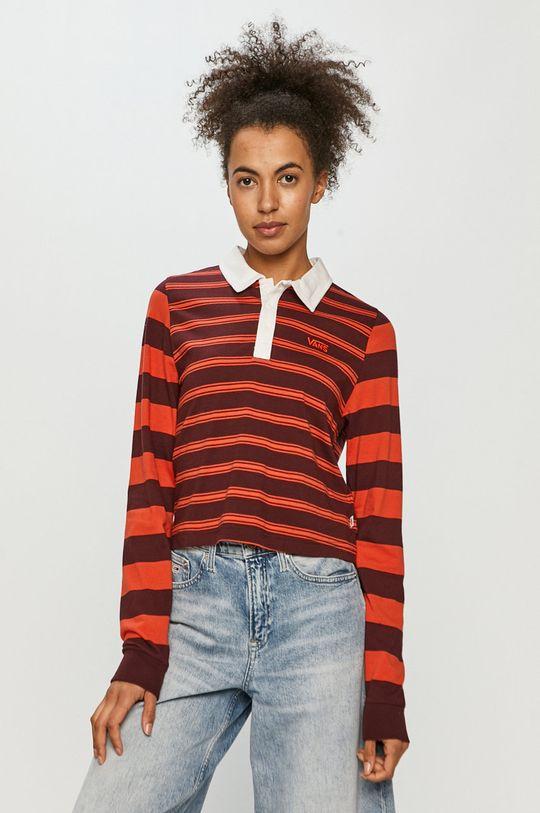 červená Vans - Tričko s dlhým rukávom Dámsky
