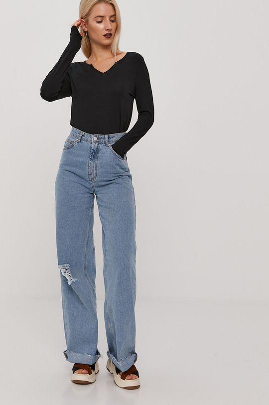 Vero Moda - Longsleeve czarny