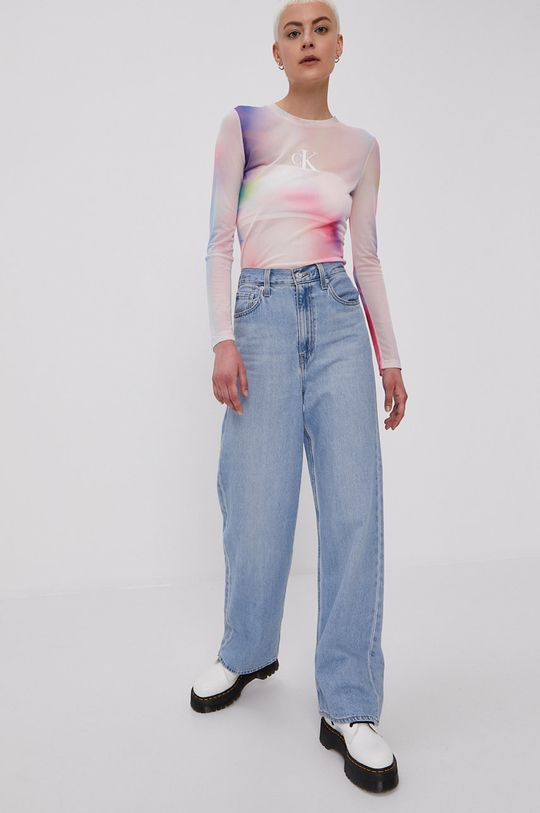 Calvin Klein Jeans - Bluzka multicolor