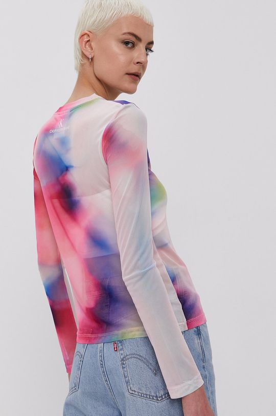 Calvin Klein Jeans - Bluzka 5 % Elastan, 95 % Poliester