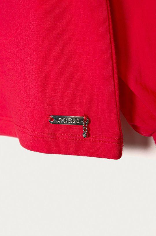 Guess - Bluzka dziecięca 116-175 cm ostry różowy