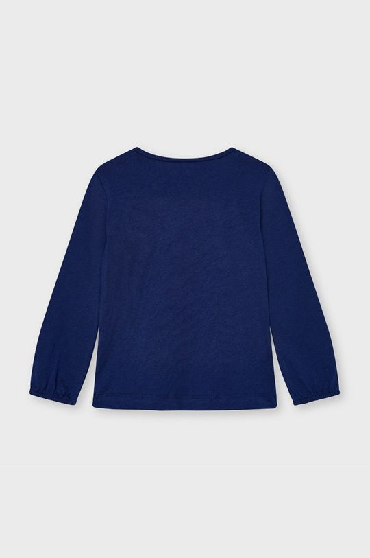 Mayoral - Detské tričko s dlhým rukávom tmavomodrá