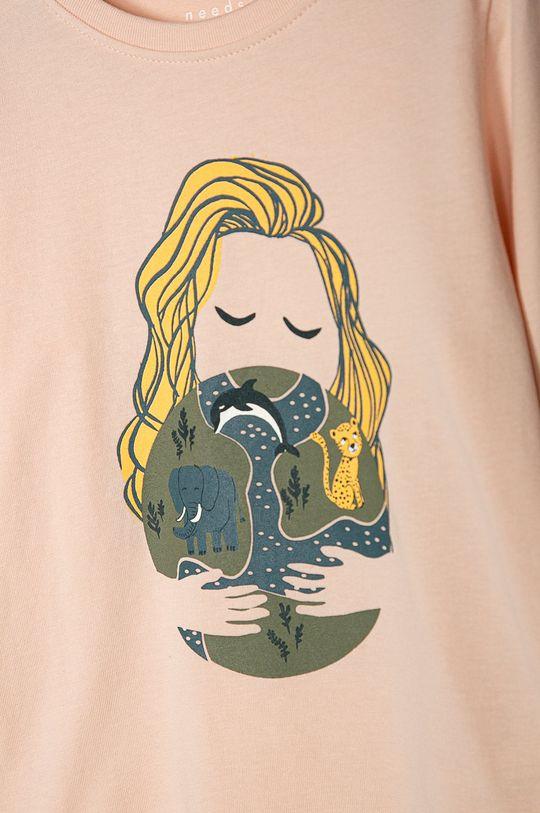 Name it - Detské tričko s dlhým rukávom 92-128 cm (2-pak) žltá