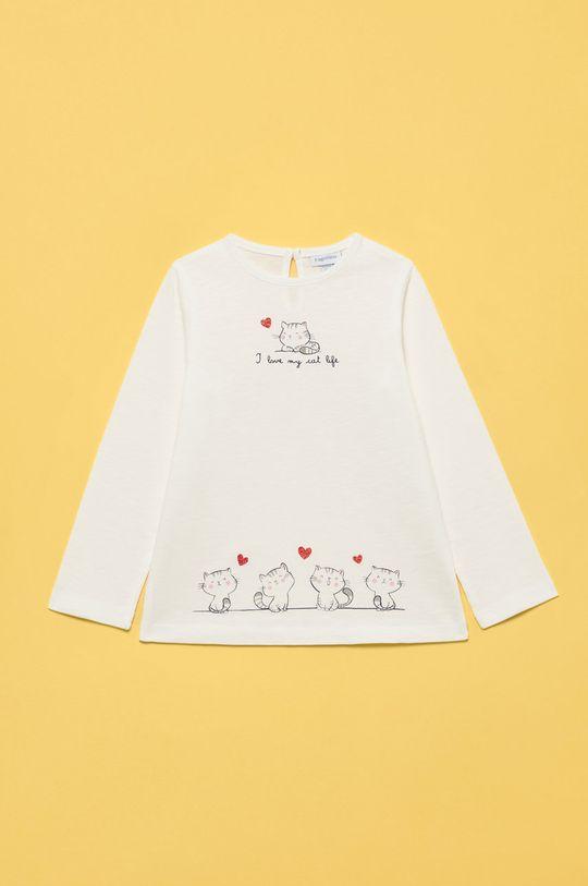 biały OVS - Longsleeve dziecięcy Dziewczęcy