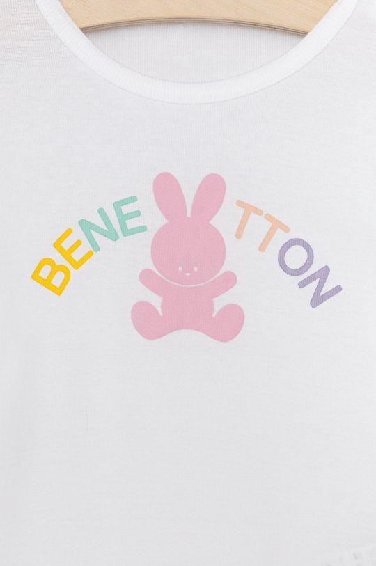 United Colors of Benetton - Dětské tričko s dlouhým rukávem  100% Organická bavlna