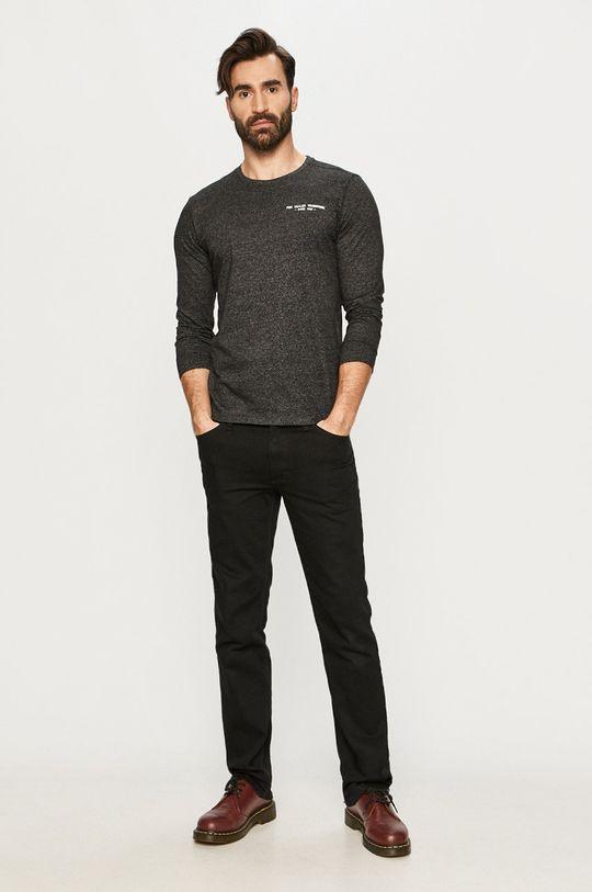 Tom Tailor - Tričko s dlhým rukávom čierna