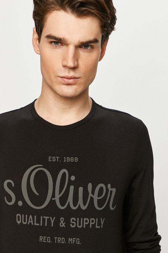 czarny s. Oliver - Longsleeve