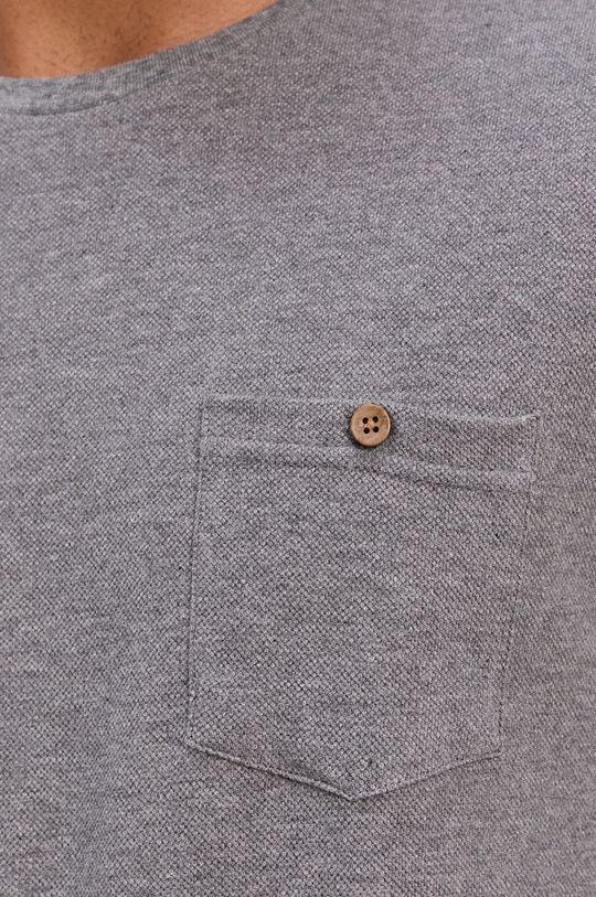 šedá Protest - Tričko s dlouhým rukávem