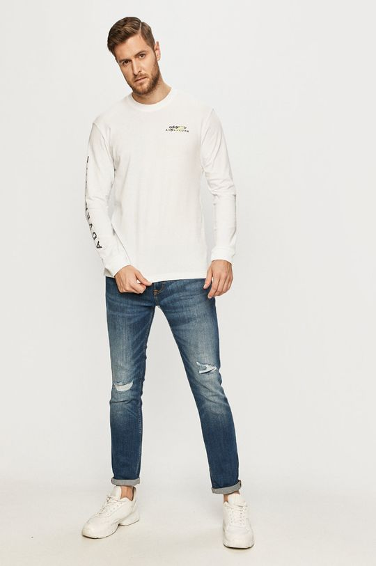 adidas Originals - Longsleeve biały