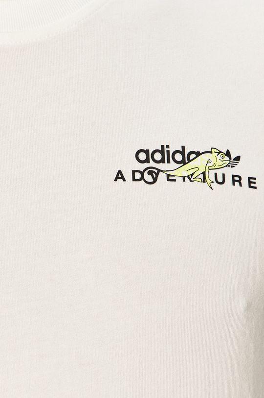 biały adidas Originals - Longsleeve