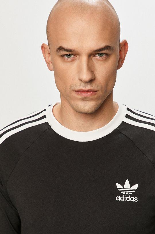 čierna adidas Originals - Tričko s dlhým rukávom