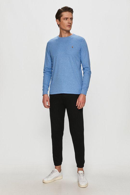 Polo Ralph Lauren - Tričko s dlouhým rukávem modrá