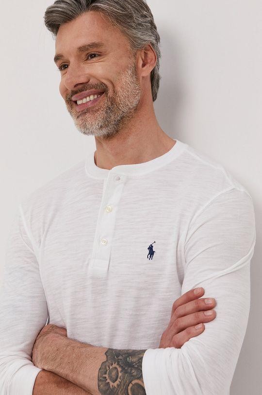 biały Polo Ralph Lauren - Longsleeve Męski