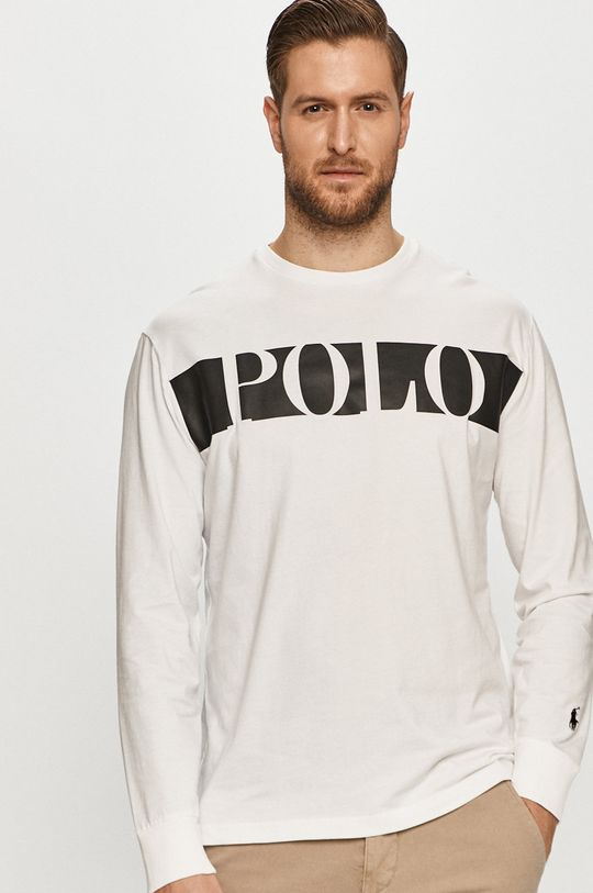 Polo Ralph Lauren - Tričko s dlhým rukávom biela