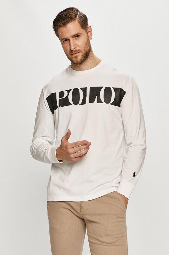 biela Polo Ralph Lauren - Tričko s dlhým rukávom