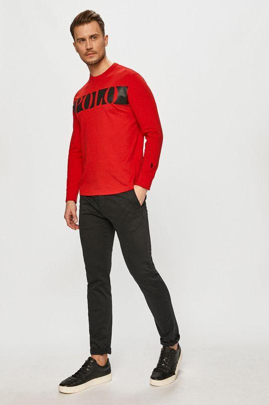 Polo Ralph Lauren - Tričko s dlhým rukávom červená