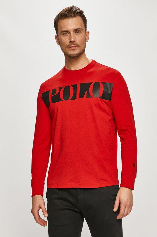 červená Polo Ralph Lauren - Tričko s dlhým rukávom