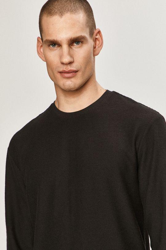 černá Tigha - Tričko s dlouhým rukávem