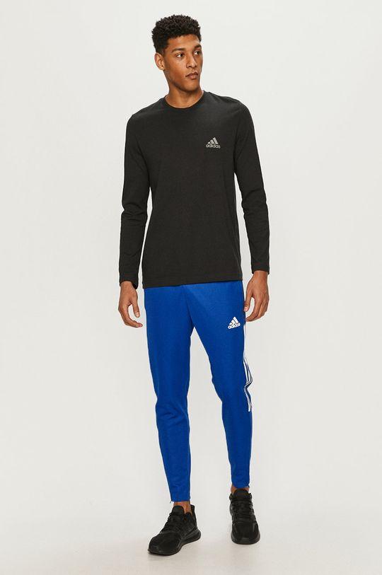 adidas - Tričko s dlouhým rukávem černá