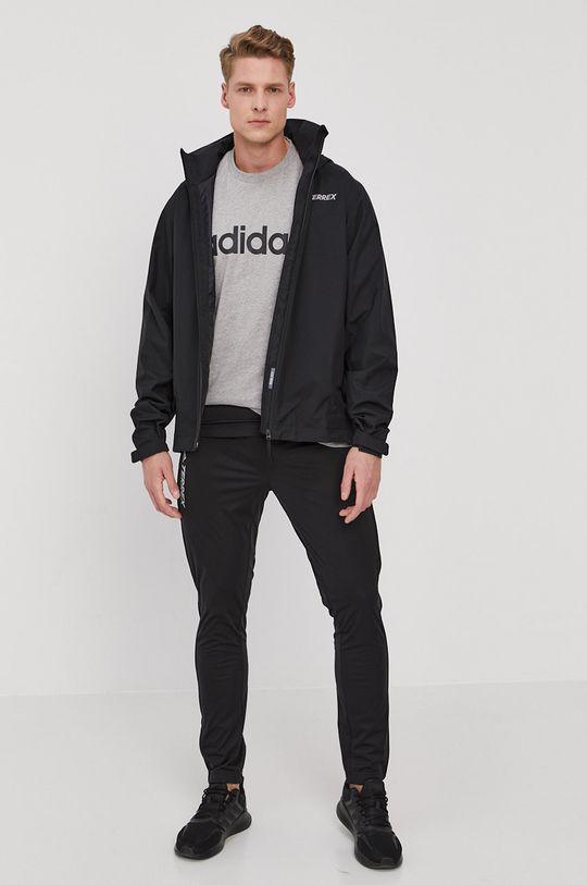adidas Performance - Longsleeve czarny