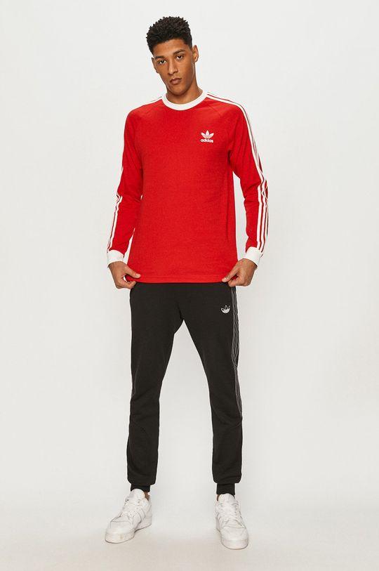 adidas Originals - Tričko s dlouhým rukávem červená