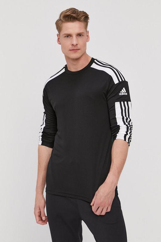 čierna adidas Performance - Tričko s dlhým rukávom