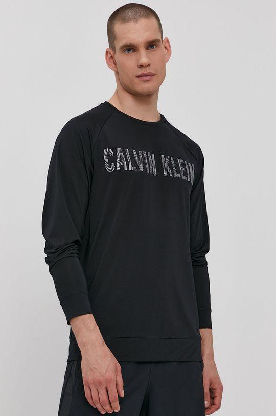 Calvin Klein Performance - Tričko s dlhým rukávom čierna