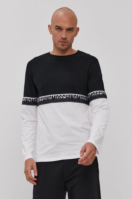 černá Moschino Underwear - Tričko s dlouhým rukávem Pánský