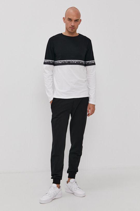 Moschino Underwear - Tričko s dlouhým rukávem černá