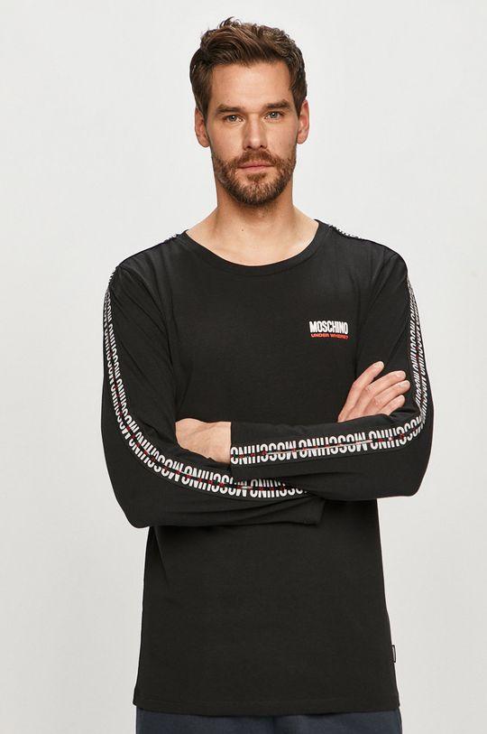 negru Moschino Underwear - Longsleeve De bărbați