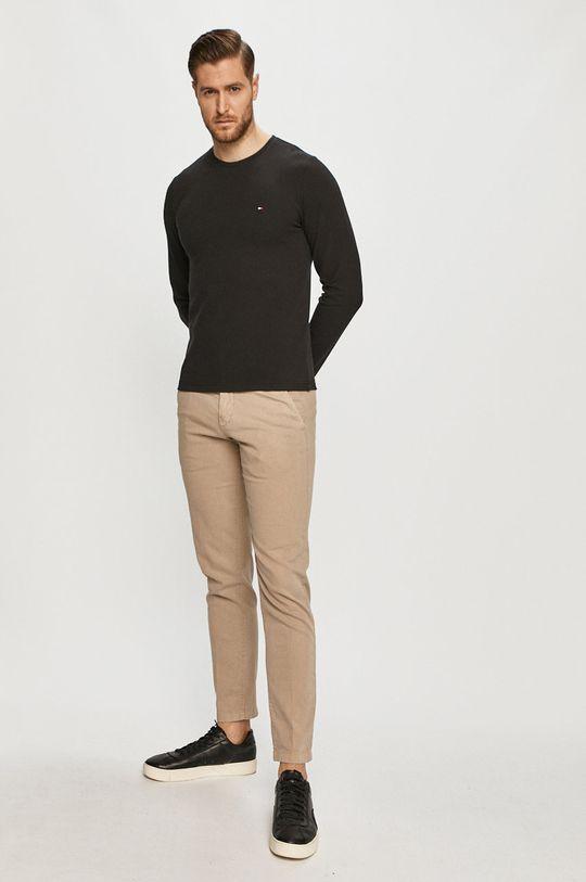 Tommy Hilfiger - Tričko s dlhým rukávom čierna