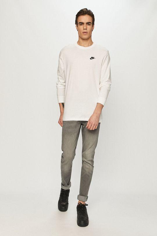 Nike Sportswear - Longsleeve biały