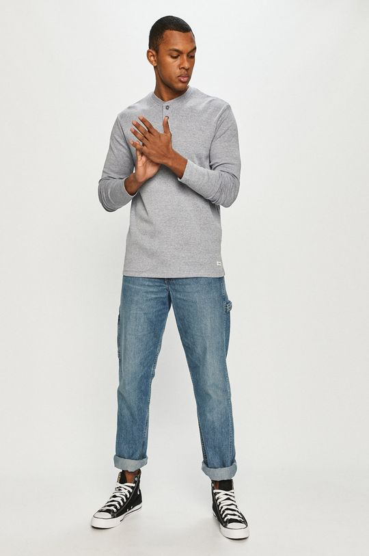 Produkt by Jack & Jones - Tričko s dlhým rukávom modrá