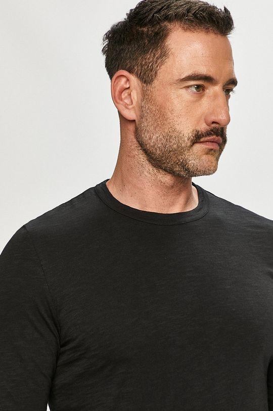 černá Marc O'Polo - Tričko s dlouhým rukávem