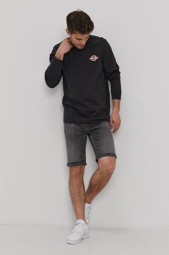 Dickies - Tričko s dlouhým rukávem černá