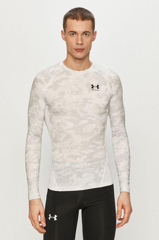 biały Under Armour - Longsleeve Męski