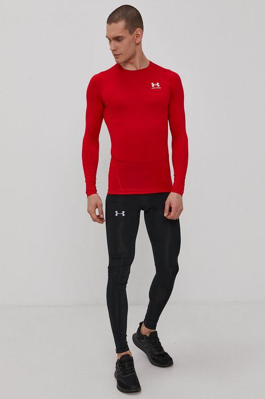 Under Armour - Tričko s dlhým rukávom červená