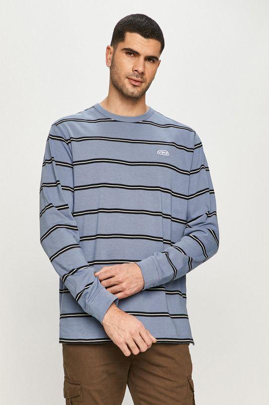 modrá Vans - Tričko s dlouhým rukávem Pánský